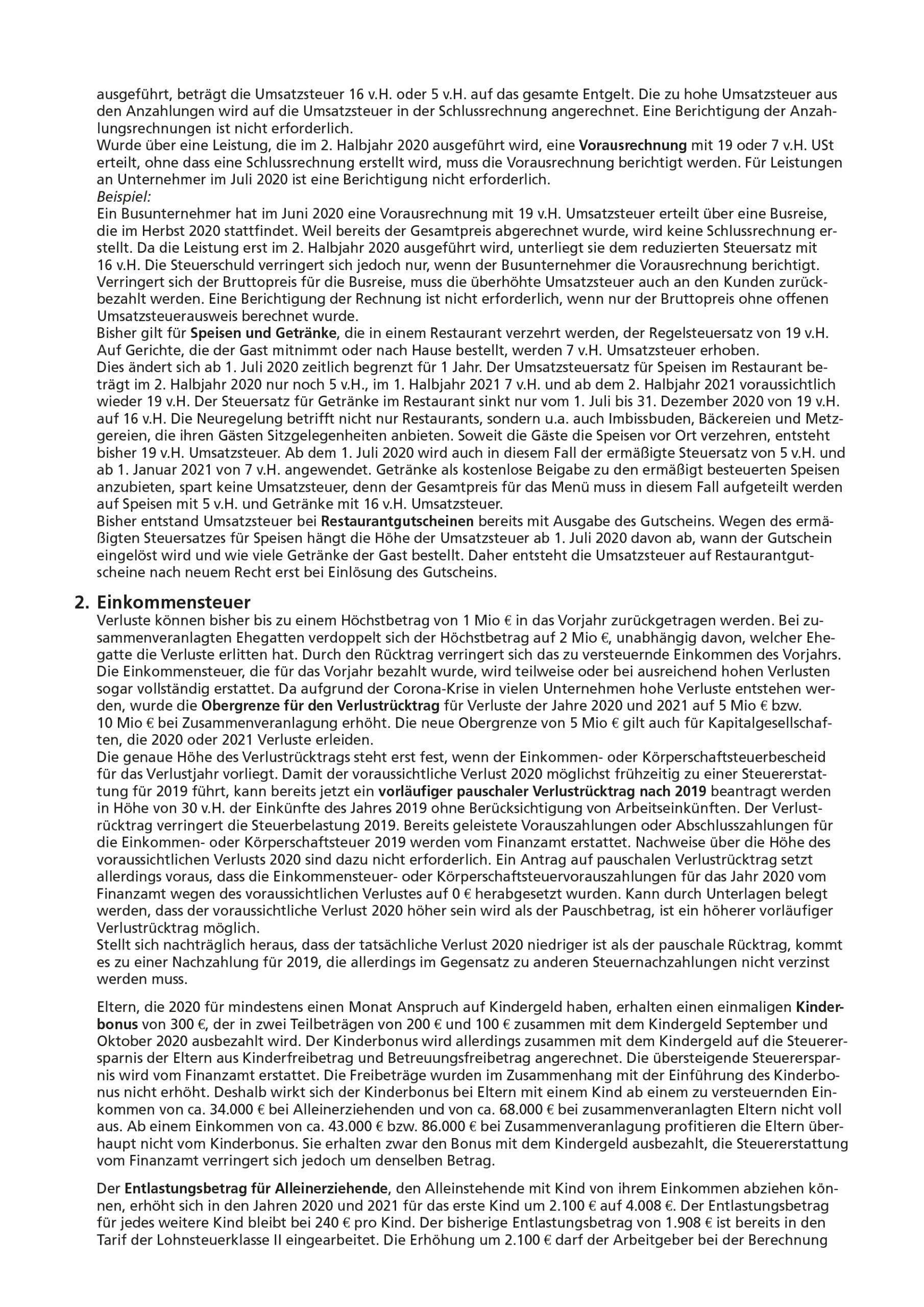 js-tax Steuerberatung Mandantenrundschreiben 2020-07 S2