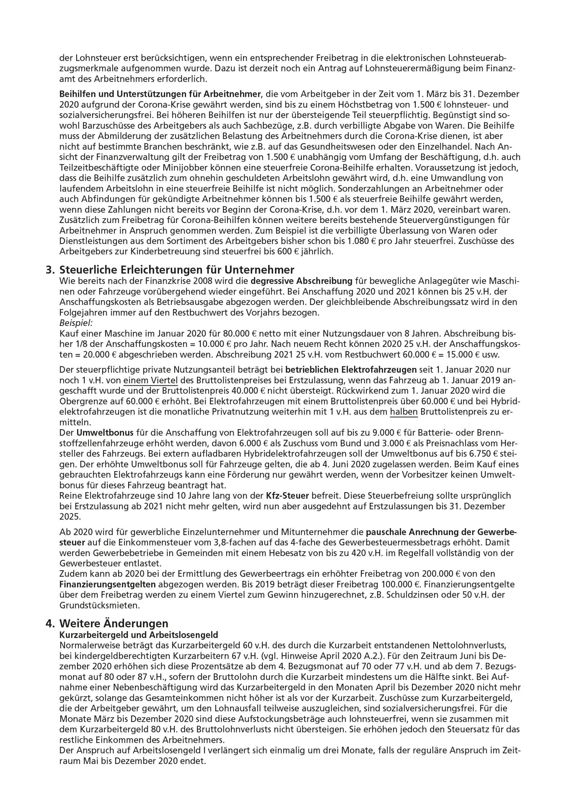 js-tax Steuerberatung Mandantenrundschreiben 2020-07 S3