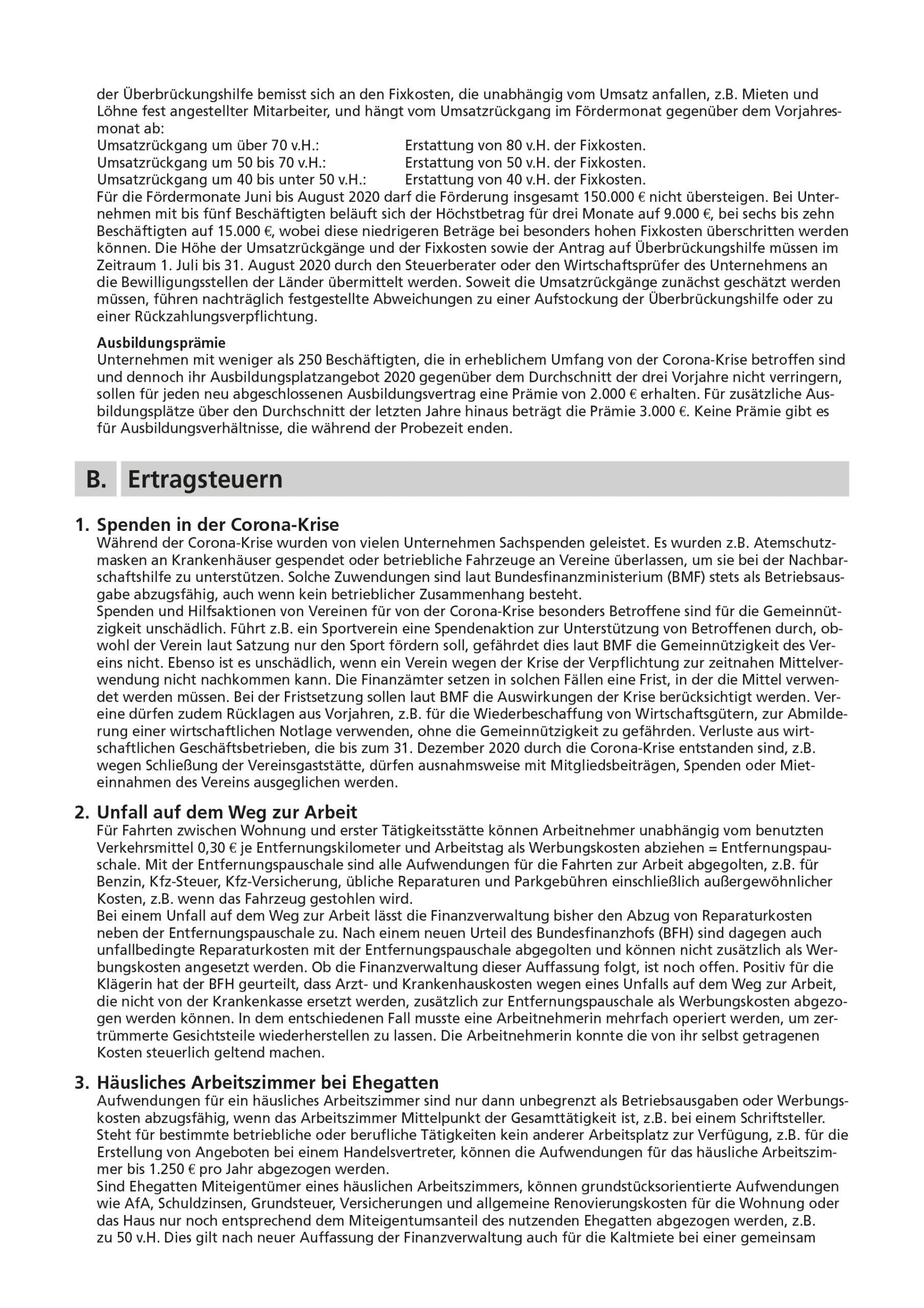 js-tax Steuerberatung Mandantenrundschreiben 2020-07 S5