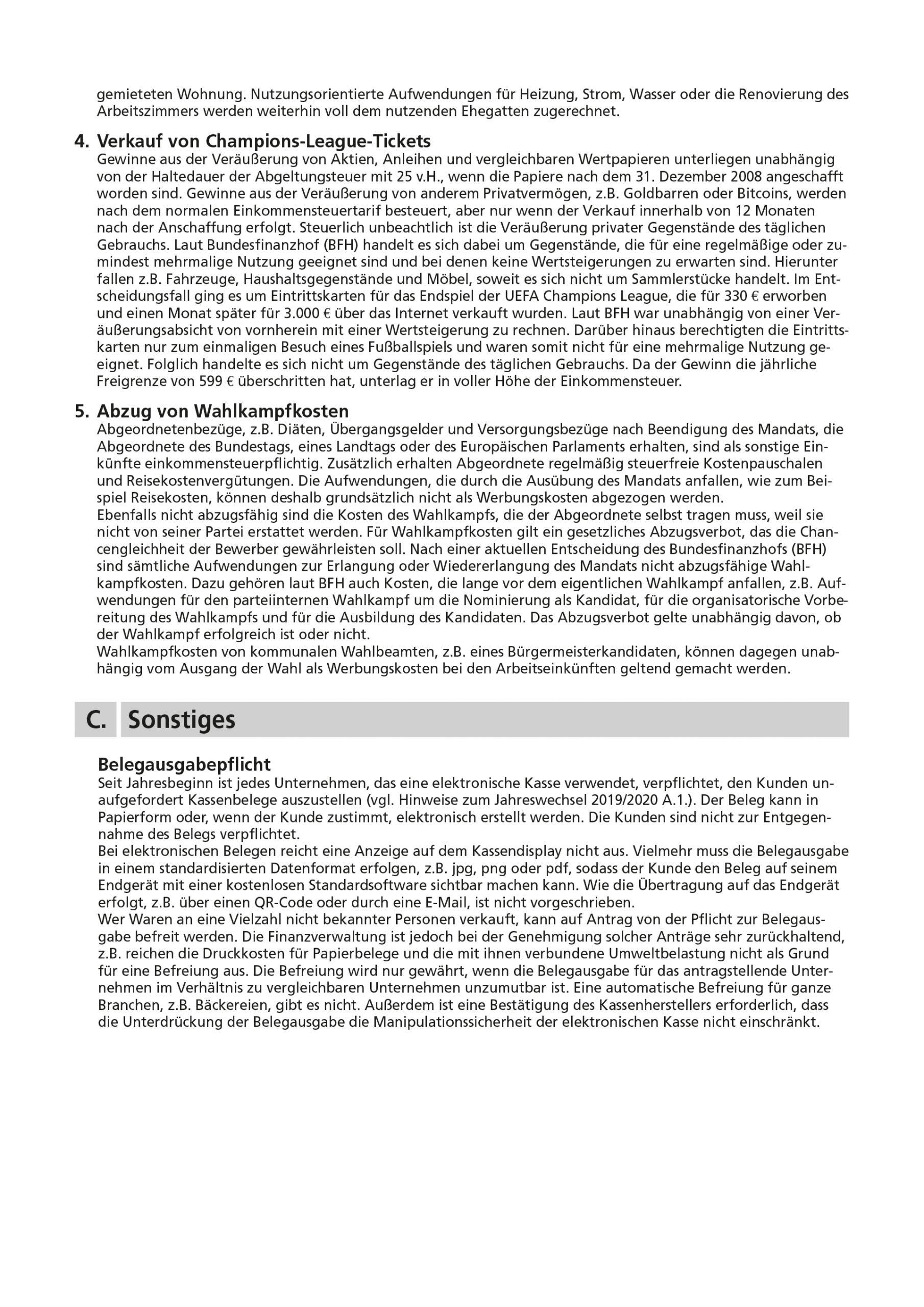 js-tax Steuerberatung Mandantenrundschreiben 2020-07 S6